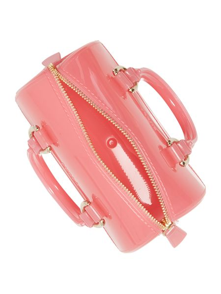 Furla Candy pink mini bowling bag