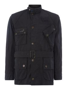 Casual Vin Waxed Buttoned Overcoat