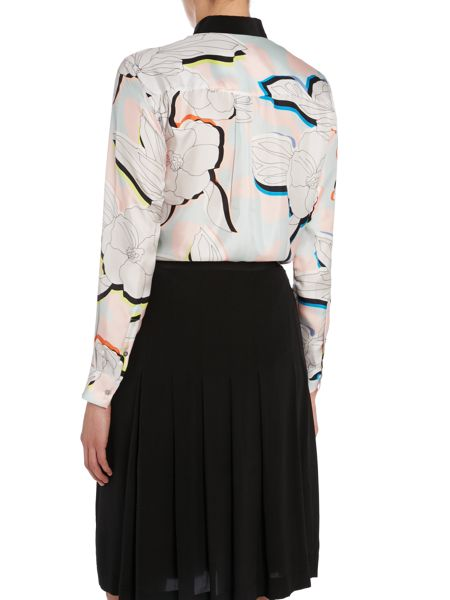 Paul Smith Black Label Shirt/Blouse with large flower print