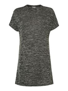 Wal-G Jersey tunic dress