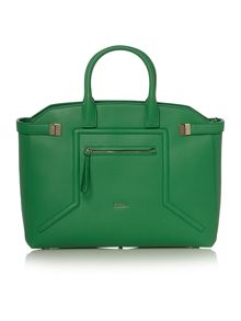 Alice green tote bag