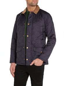 Showerproof Popper Fastening Quilted Jacket