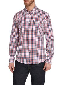 Barbour Gingham Classic Fit Long Sleeve Classic Shirt