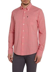 Barbour Gingham Long Sleeve Collar Shirt Classic Fit