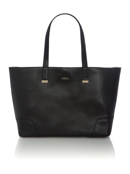Furla Stacy black tote bag