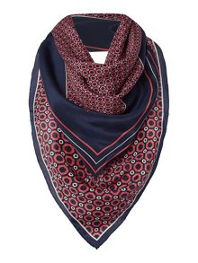 Bess Silk Square Scarf