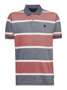Army & Navy Davis Stripe Polo Shirt