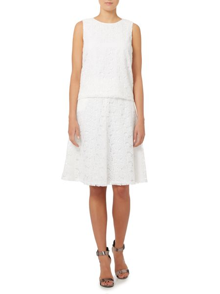 Episode sleeveless all over lace top