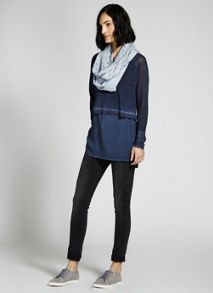 Bluebell Broderie Snood