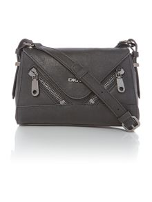 Pebble black cross body bag