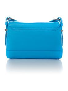 Pebble blue cross body bag