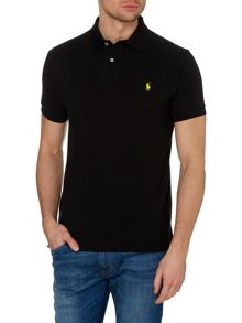 Custom-Fit Mesh Polo Shirt
