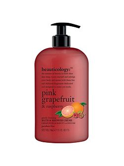 Pink Grapefruit & Raspberry Bath & Shower Crème