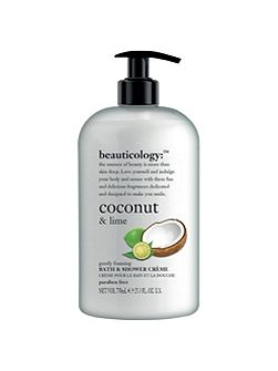 Coconut & Lime Bath & Shower Crème 750ml