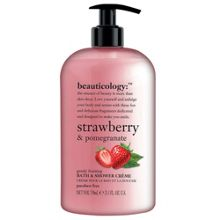Baylis & Harding Strawberry & Pomegranate Bath & Shower Crème