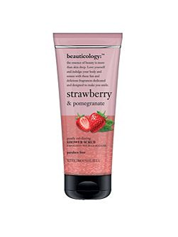 Strawberry & Pomegranate Shower Scrub 250ml