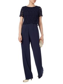 Asami lace top jumpsuit