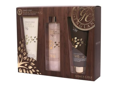 Grace Cole Warm Fig and Vanilla Soothing Pamper Collection