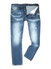 Light Wash Jeans Mid Rise