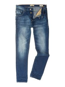 Light Wash Low Rise Jeans