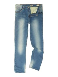 Blend Light Wash Low Rise Jeans