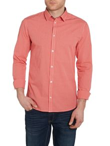Casual Friday Check Slim Fit Long Sleeve Shirt