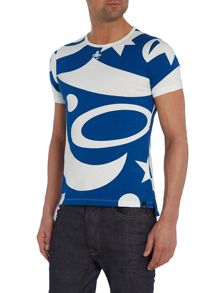 All Over Print Slim Fit T-Shirt