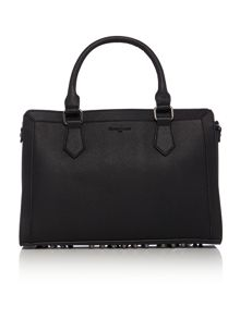 Incarnation black tote bag