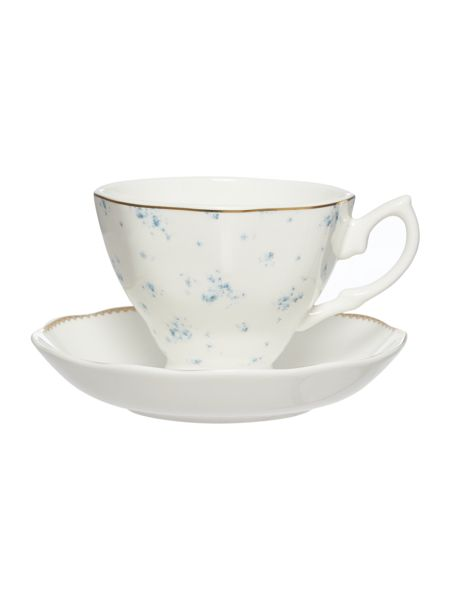 Shabby Chic Annabella Ditsy Cup & Saucer