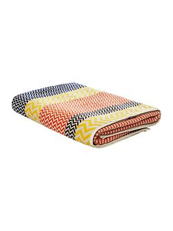 Chevron Bath Towel in Multi