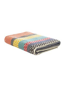 Chevron Bath Sheet in Multi