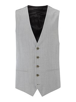 Men's Kenneth Cole Plain Slim Fit Waistcoat