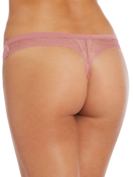 Calvin Klein Perfectly Fit W/ Lace All Lace Thong