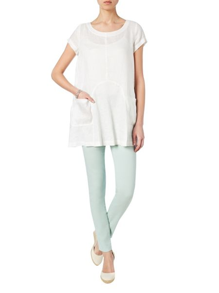 Phase Eight Mallory linen blouse