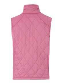 Encore funnel neck quilted gilet