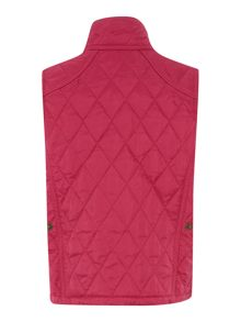 Liddesdale funnel neck quilted gilet