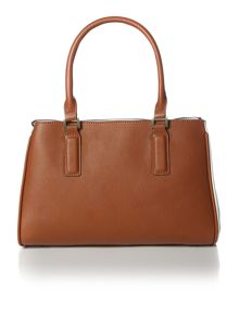 Alexie neutral snake tote bag