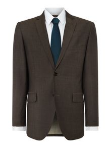 Verulo Pin Dot Notch Collar Tailored Suit Jacket