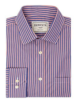Men's Howick Tailored Elkton Stripe Shirt With Classic
