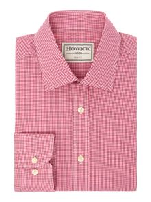 Howick Tailored Asbury Slim Fit Gingham Shirt
