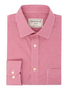 Howick Tailored Edison Small Gingham Shirt
