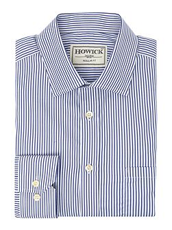 Arvin Strpe Shirt With Classic Collar