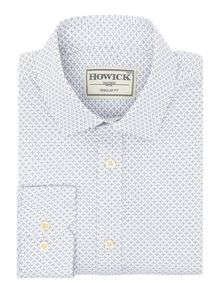 Howick Tailored Radley Geo Print Shirt