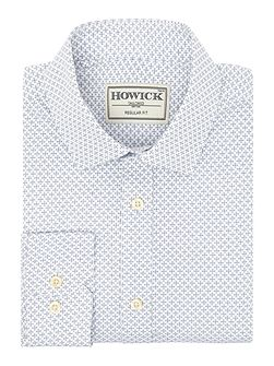 Men's Howick Tailored Radley Geo Print Shirt