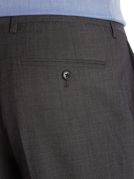 New & Lingwood Frockland Plain Tailored Fit Suit Trousers