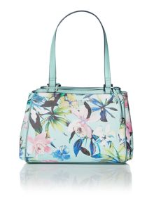 Sophia multi-coloured medium shoulder tote bag
