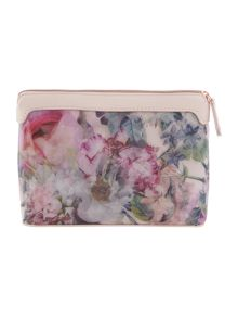Brighto pink large cosmetic bag