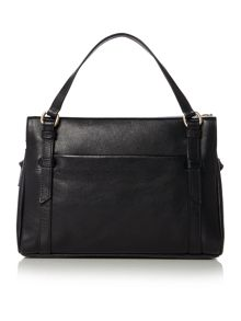 Chelsea black small crossbody tote bag