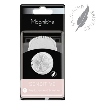 Magnitone SENSITIVE - Replacement Brushes 2 pack