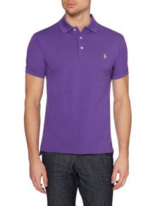 Plain Polo Slim Fit Polo Shirt